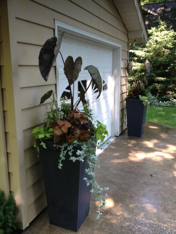 Custom Raised Planter Container Design Charlevoix