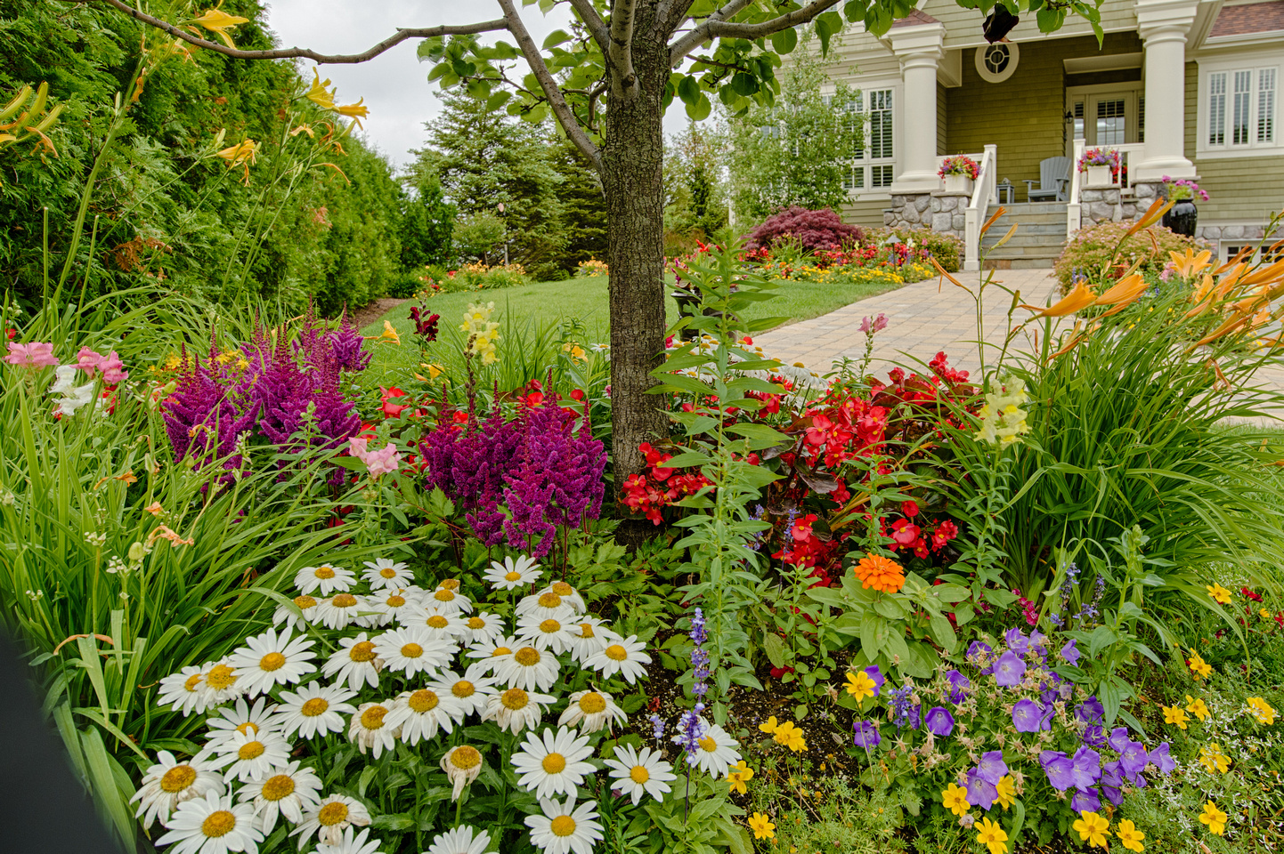 Garden Design Planting Harbor Springs