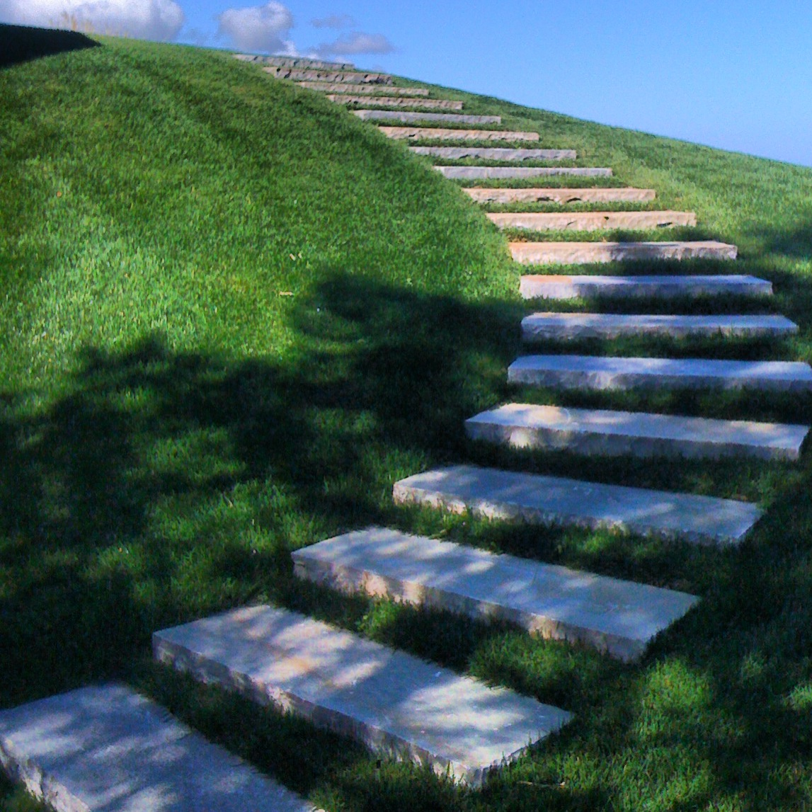 Stone Step Design Turf Joints Petoskey Michigan