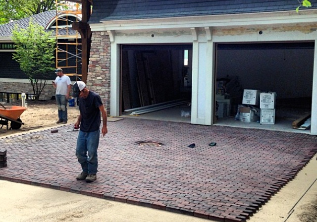 Unilock Copthorn Driveway Installation Walloon Lake